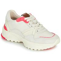 Skor Dam Sneakers Coach C143 RUNNER Vit / Rosa