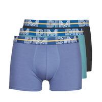 Underkläder  Herr Boxershorts DIM BO POWERFUL X3 Blå / Grön / Svart