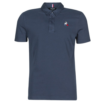 textil Herr Kortärmade pikétröjor Le Coq Sportif ESS POLO SS N°2 M Blå
