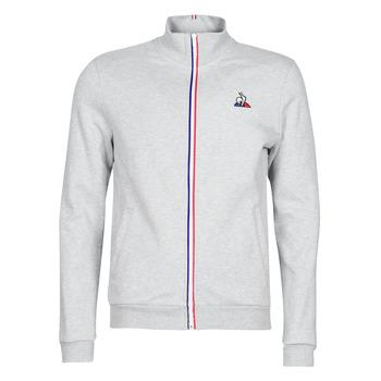 textil Herr Sweatjackets Le Coq Sportif ESS FZ Sweat N°2 M Grå / Melerad