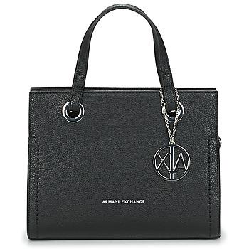 Väskor Dam Handväskor med kort rem Armani Exchange MEYLANI Svart