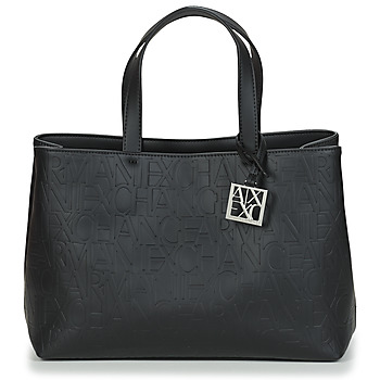Väskor Dam Handväskor med kort rem Armani Exchange MANI Svart
