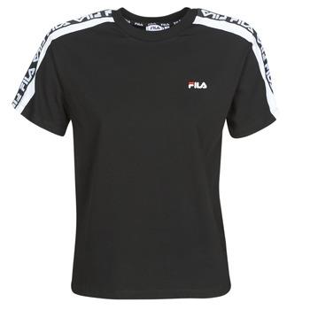 textil Dam T-shirts Fila TANDY Svart