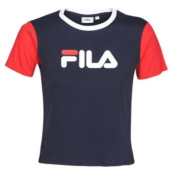 textil Dam T-shirts Fila Salome Marin / Röd