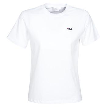 textil Dam T-shirts Fila EARA Vit