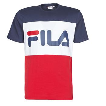 textil Herr T-shirts Fila DAY Marin / Röd / Vit