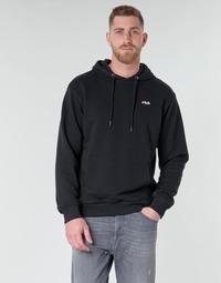 textil Herr Sweatshirts Fila Edison Svart