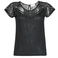 textil Dam T-shirts Deeluxe CLEA Svart