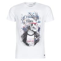 textil Herr T-shirts Deeluxe ENFIELDON Vit