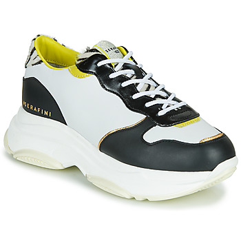 Skor Dam Sneakers Serafini BROOKLYN Vit / Svart