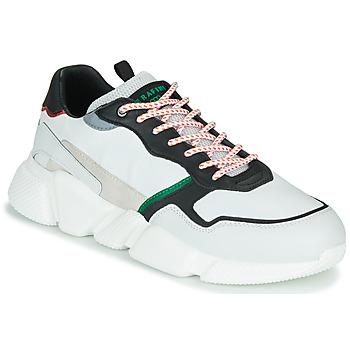 Skor Herr Sneakers Serafini OREGON Vit / Svart