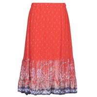 textil Dam Kjolar Cream NALITA Röd