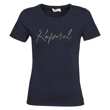 textil Dam T-shirts Kaporal RAXI Marin