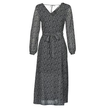 textil Dam Långklänningar Ikks BQ30085-03 Svart