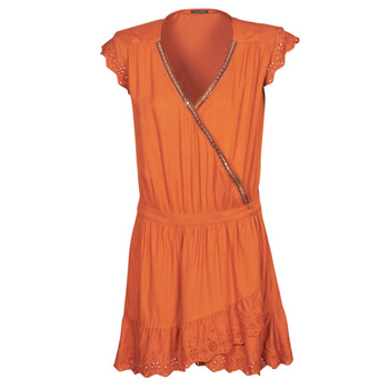 textil Dam Korta klänningar Ikks BQ30155-75 Orange