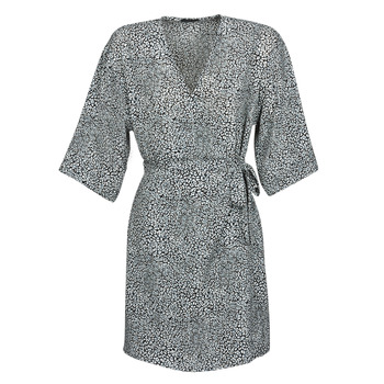 textil Dam Korta klänningar Ikks BQ30415-03 Svart / Vit
