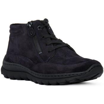 Skor Dam Höga sneakers Ara VELOUR BLAU Blu