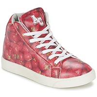 Höga sneakers American College RED