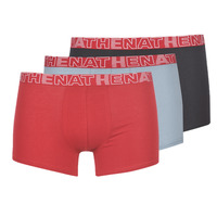 Underkläder  Herr Boxershorts Athena BASIC COLOR Svart / Bordeaux / Grå