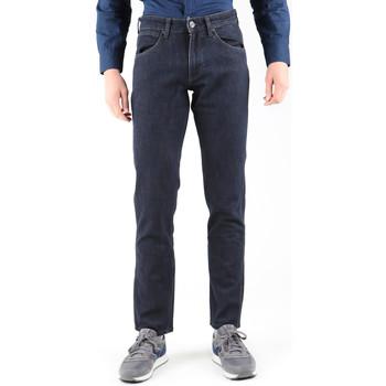 textil Herr Raka byxor Wrangler Greensborg W15QBR77S Navy blue
