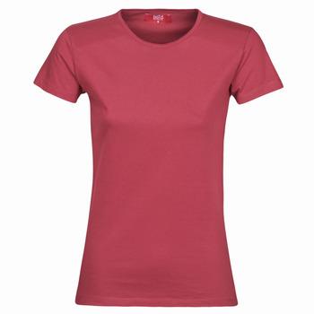 textil Dam T-shirts BOTD MATILDA Bordeaux