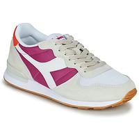 Skor Dam Sneakers Diadora CAMARO Beige / Rosa