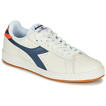 Skor Herr Sneakers Diadora GAME L LOW Beige / Blå
