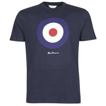 textil Herr T-shirts Ben Sherman SIGNATURE TARGET TEE Marin