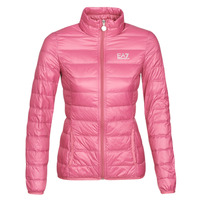 textil Dam Täckjackor Emporio Armani EA7 TRAIN CORE LADY W LT DOWN JACKET Rosa
