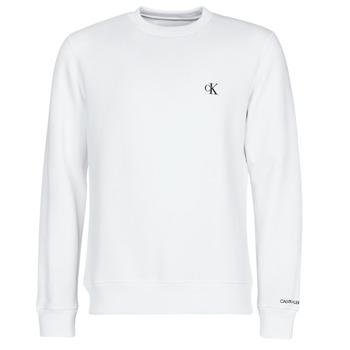 textil Herr Sweatshirts Calvin Klein Jeans CK ESSENTIAL REG CN Vit