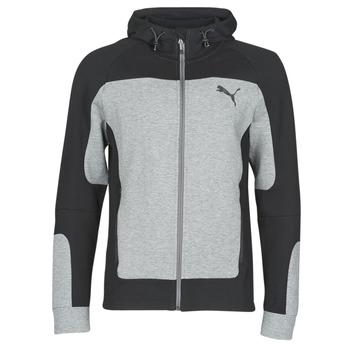 textil Herr Sweatshirts Puma EVOST HOOD Grå