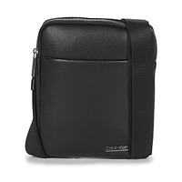 Väskor Herr Portföljer Calvin Klein Jeans CK BOMBE' FLAT CROSSOVER Svart