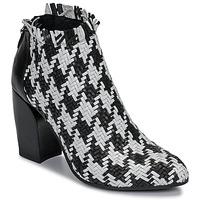 Skor Dam Boots Mimmu JESTINE Svart / Vit