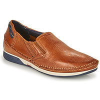Skor Herr Slip-on-skor Fluchos JAMES Brun / Marin