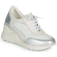 Skor Dam Sneakers Hispanitas TOKIO Vit / Silverfärgad