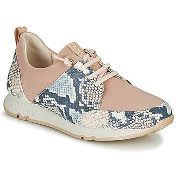Skor Dam Sneakers Hispanitas KIOTO Beige / Blå