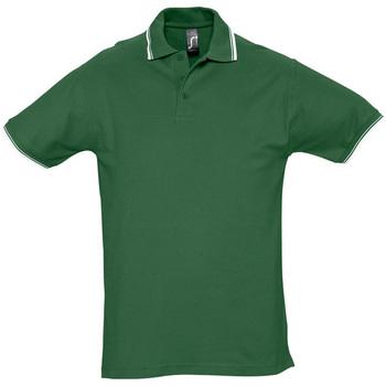 textil Herr Kortärmade pikétröjor Sols PRACTICE GOLF SPORT Verde