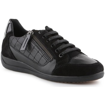 Skor Dam Sneakers Geox D Myria A Svarta