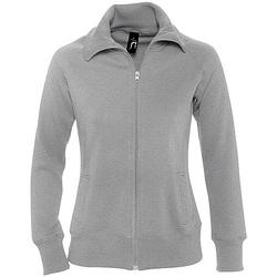 textil Dam Sweatshirts Sols SODA WOMEN SPORT Gris