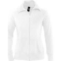 textil Dam Sweatshirts Sols SODA WOMEN SPORT Blanco