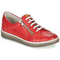 Skor Dam Sneakers Dorking KAREN Röd / Beige