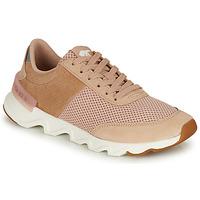 Skor Dam Sneakers Sorel KINETIC LITE LACE Beige / Rosa