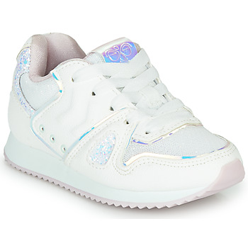 Skor Flickor Sneakers Hummel MARATHONA SHINE JR Vit