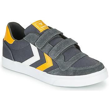 Skor Barn Sneakers Hummel STADIL LOW JR Grå