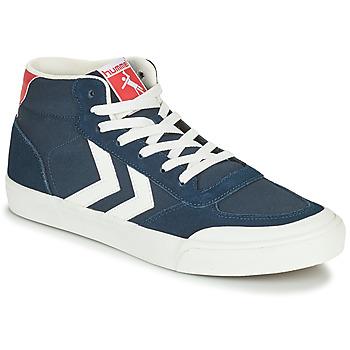 Skor Herr Höga sneakers Hummel STADIL 3.0 CLASSIC HIGH Blå