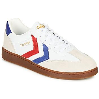 Skor Herr Sneakers Hummel VM78 CPH LEATHER Vit / Röd / Blå