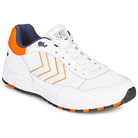 Skor Herr Sneakers Hummel 3-S SPORT Vit / Orange