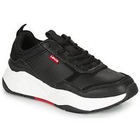 Skor Dam Sneakers Levi's WEST Svart