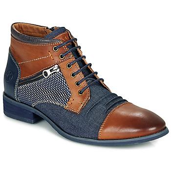 Skor Herr Boots Kdopa BILLY Brun / Blå