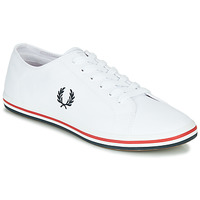 Skor Herr Sneakers Fred Perry KINGSTON TWILL Vit